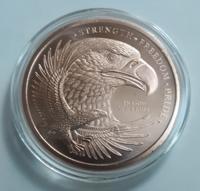 Picture of Eagle (1oz Copper Round) Coin